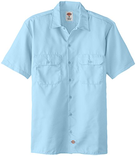 Dickies Work Chemise Manches courtes Homme Light Blue