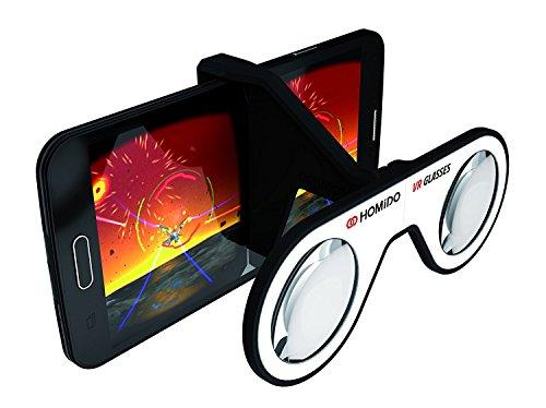 Homido Virtual Realidad auricular con micrófono para Smartphone