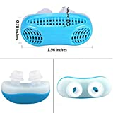 KRIYAA 2 in 1 Anti Snoring Devices and Air Purifier Filter with Travel