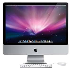 "Apple iMac MC015 Ordinateur de bureau 20"" Core 2 Duo GeForce 9400M/SD Lecteur cartes RAM 1 Go HDD 160 Go"