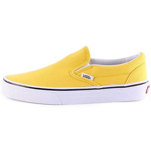 Vans U Classic Slip-on Overwashed, Unisex-Erwachsene Sneakers Yellow