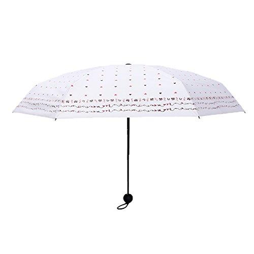 Jpp ombrellone parasole pieghevole da sole con protezione solare