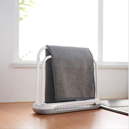CMX-604 Küche Lagerung Schwamm Trocknen U Form Praktische Lappen Arbeitsplatte Seife Geschirrtuch Rack Desktop Organizer Kleiderbügel Abnehmbare Haushalt 3 stücke