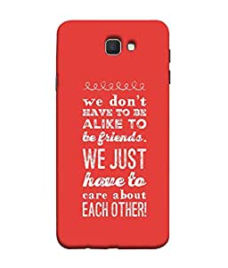 99Sublimation Designer Back Case Cover for Samsung Galaxy On7 Pro :: Samsung Galaxy On 7 Pro (2015) (Muse Reflect Deeply Subject MusingBig Picture Lot More Gratifying Than Focusing)