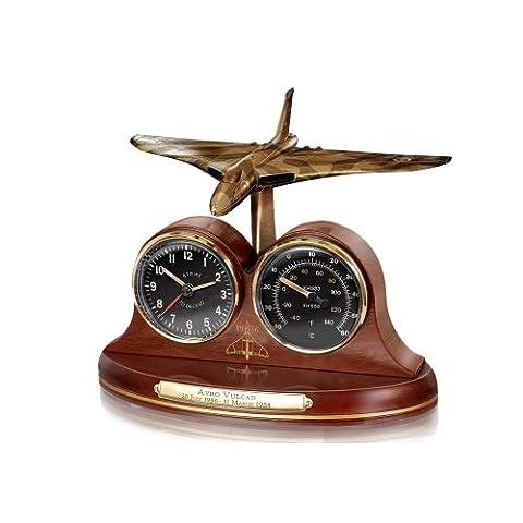 The Bradford Exchange - Avro Vulcan Bomber Desk Clock and
