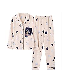 0683a58a70 Meaeo Pareja De Algodón De Gran Tamaño Pijamas Casuales Conjuntos De Pijamas  Amante Ropa De Dormir
