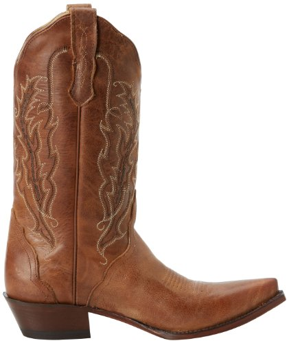 Nocona NL5015 Cuir Santiags Old West Tan