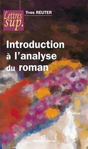 Introduction  l'analyse du roman