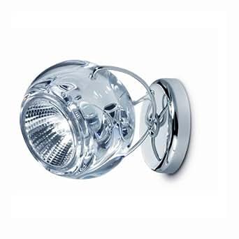 BELUGA - Spot clear   Applique Fabbian designé par Marc Sadler