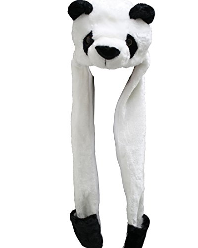 Panda Kopfhörer Hut mit Incorporated Schal kawaii Cosplay PIDAK Shop (Cosplay-accessoires Piece One)