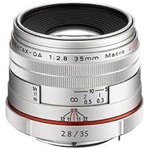 Pentax 35mm f:2.8 Macro - Objetivo para Pentax (distancia focal fija 35mm, apertura f/2.8-22, diámetro: 49mm), plata