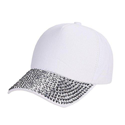Damen & Herren Baseball Caps,OYSOHE NeuesteMode Baseball Cap Strass Pfote geformte Snapback Hut