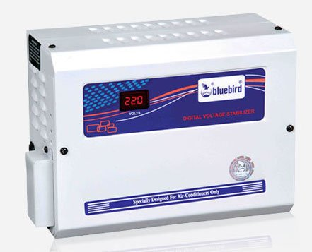 Bluebird Digital Voltage Stabilizer 4kVA 150-280V Copper for 1 and 1.5 Ton AC