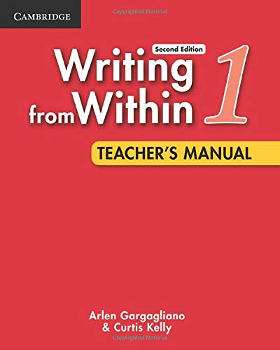 Writing from Within Level 1 Teacher's Manual