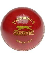 Sconosciuto Slazenger Serie V Elite Palla da Cricket Adulto Rosso - Rosso, da Adulto