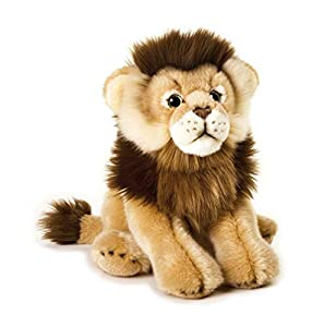 National Geographic- Löwe Peluche, Color marrón (9770749)