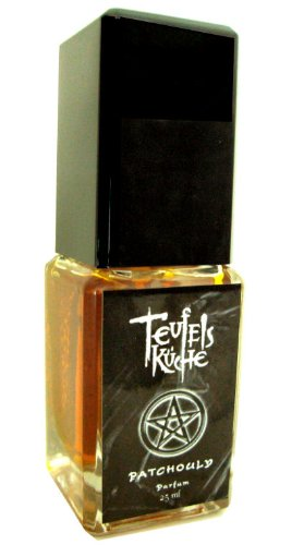 Original Teufelsküche Patchouli Perfume, 25 ml, Gothic Perfume, Pure Patchouli Gothic Spray Flask