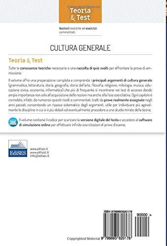 Zoom IMG-1 cultura generale nozioni teoriche ed