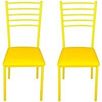 Alpisedia 100032fino–Sedia metallo giallo metallo 41x 48x 94.5cm - Arredamento - Confronta prezzi