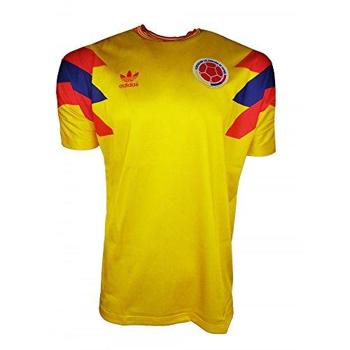 Adidas Jersey Colombia Yellow Größe: S Farbe: - Kolumbien Fußball Adidas