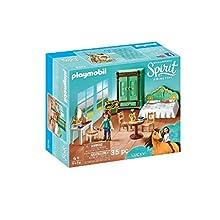 Playmobil DreamWorks Spirit 9476 Lucky's Bedroom for Children Ages 4+