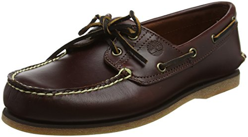 Timberland Men Classic 2-Eye Boat Shoes, Brown (Rootbeer Smooth), 7 UK (41 EU)