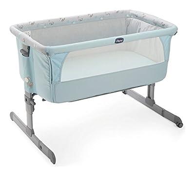 Cuna Chicco Next2Me agganciabile al cama azul