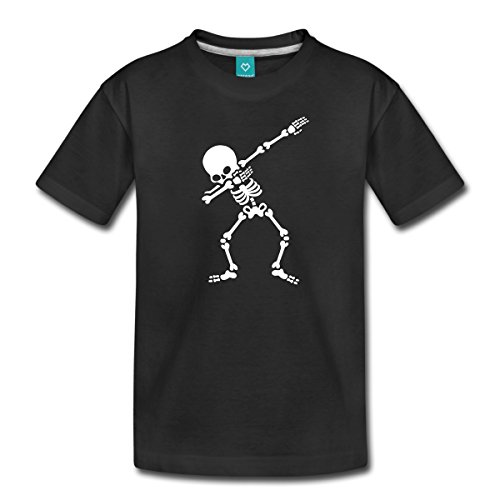 Spreadshirt Dab Skelett Dabbing Gerippe Halloween Teenager Premium -