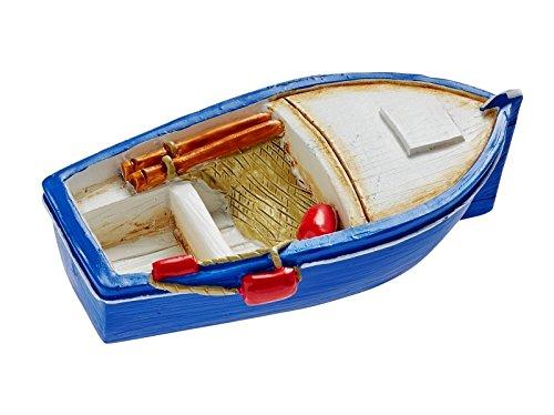 Preisvergleich Produktbild Miniatur Boot 6 cm Figur Deko Urlaub Meer Schiff Strand Ferien
