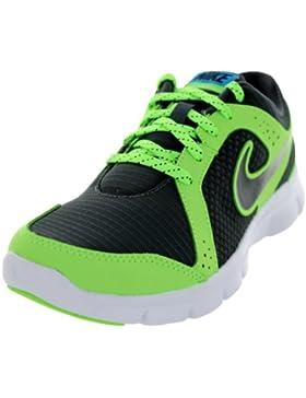Nike Nike Flex Experience (GS) - Zapatillas de atletismo y running para niño, color negro / blanco / gris metálico