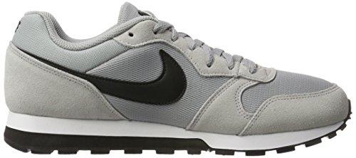 Nike MD Runner 2, Sneakers Basses Homme Gris (Wolf Greyblackwhite 001)