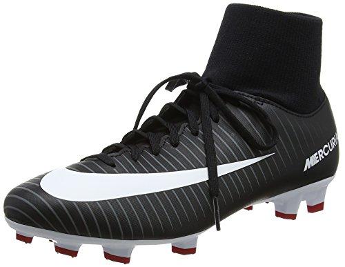 Nike Herren Mercurial Victory Vi Df Fg Fußballschuhe, Schwarz (Black/White/Dk Grey/Univ Red), 47.5 EU(13 US)