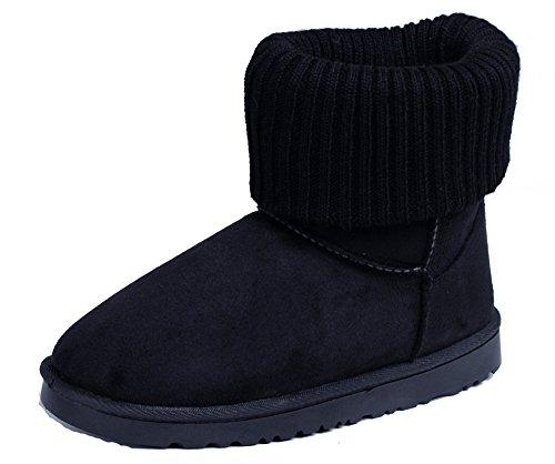 Neige Taille Shoes Enfant Bottes Talon Renforcé Femmes En Chaussure PdwSqFS