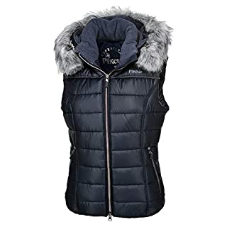 Pikeur Amica Quilted Womens Body Warmer 18 Reg Navy