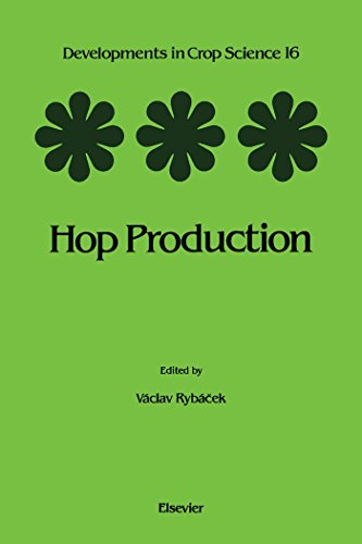 Hop Production (developments In Crop Science Book 16) por V. Rybacek epub