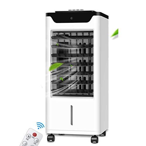 Tragbare Luftkühlung 3 in 1 Mobile wassergekühlte Klimaanlage für Zuhause und Büro, weiß (Farbe : Manual Mechanical)