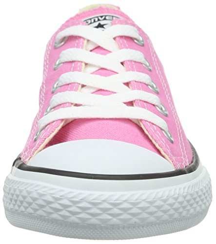 Converse Ctas Season Ox, Baskets mode mixte enfant Rose (Pink)