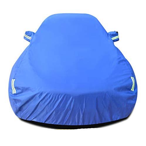 3 Copertura Impermeabile Per Auto Per Esterno Copertura Auto Protezione Solare A Grandezza Naturale Protezione Dal Calore Anti-UV Resistente Ai Graffi Antivento,Blue-3