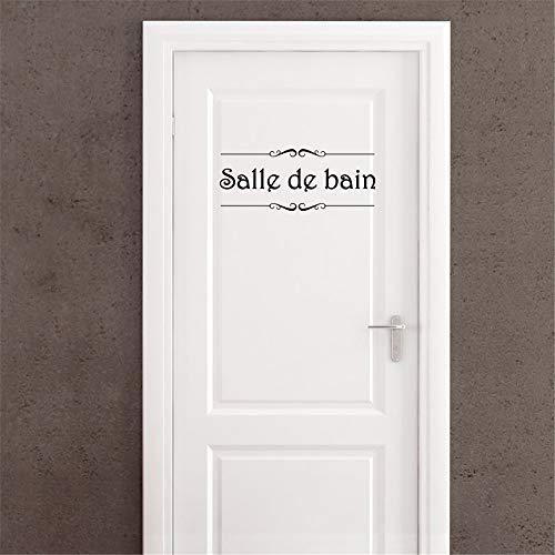 stickers muraux fille fee Salle De Bain Pour Wc Autocollant Mural Autocollant De Porte
