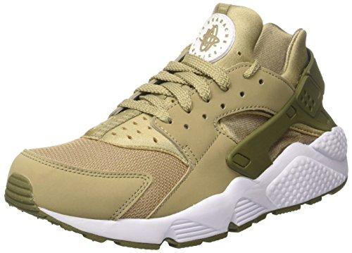 Nike Herren Air Huarache Trainer, Grün (Khaki/Khaki/Medium Olive/White), 42.5 EU (Schuhe Grün Medium)