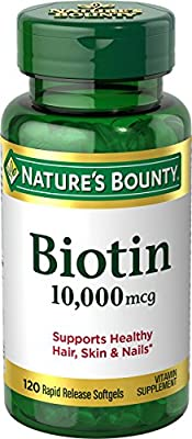 Biotin (Biotin 10000 mcg 60 ct.) by Nature's Bounty