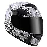Frauen Winter Wärme Motorradhelm Männer Full Face Motobike Helm Vier Jahreszeiten Antifogging Motocross Schutzkappe