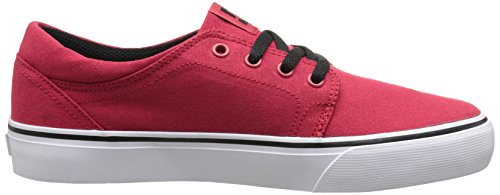 DC Shoes Trase Tx, Jungen Sneaker Rot - Rouge (Athletic Red)