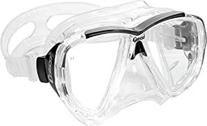 Cressi Big Eyes Scuba Diving and Snorkeling Mask - Transparent
