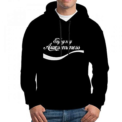 Not Perfect Enjoy My Awesomeness Long Sleeve for Men Custom Hoodies Sweatshirt