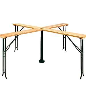 Table Bar fête extérieure - Quattro 20 personnes - table pliante pliable