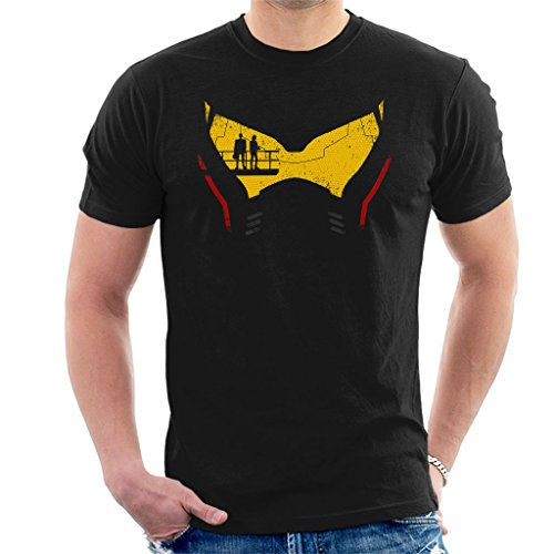 Cloud City 7 Pacific Rim Jaeger Head Men's T-Shirt