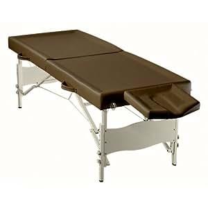 """Table de Massage Pliante """"Ayurveda"""" - Chocolat"""