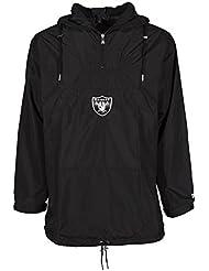 Cortavientos New Era – Nfl Ne Remix II Poncho Oakland Raiders negro talla: M (Medium)