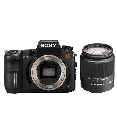 Sony DSLR-A700K SLR-Digitalkamera (12 Megapixel, EXMOR Sensor, BIONZ Bildstabilisator) inkl. 18–70 mm Objektiv